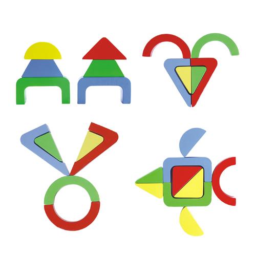 几何形状拼图