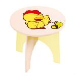 动物圆形椅-小鸡